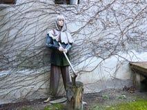 Δημόσιος executioner Στοκ φωτογραφία με δικαίωμα ελεύθερης χρήσης
