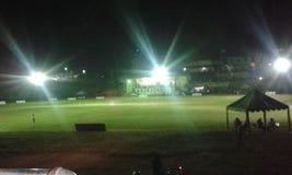 Δημόσιο έδαφος Bandarawela στη νύχτα στοκ εικόνες
