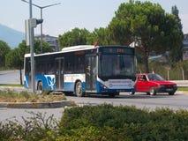 Δημόσιο μέσο μεταφοράς - λεωφορεία Στοκ Φωτογραφίες