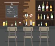 Δημόσιο μπαρ μπύρας Στοκ φωτογραφία με δικαίωμα ελεύθερης χρήσης