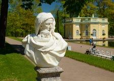 Δημόσιο πάρκο σε Pushkin Στοκ φωτογραφίες με δικαίωμα ελεύθερης χρήσης