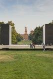 δημόσιο πάρκο στο Μιλάνο Στοκ Εικόνα