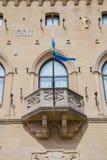Δημόσιο παλάτι στον Άγιο Μαρίνο marino SAN δημοκρατία SAN marino Στοκ Εικόνες