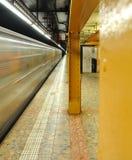Δημόσιο τηλέφωνο στον υπόγειο πόλεων της Νέας Υόρκης Στοκ φωτογραφία με δικαίωμα ελεύθερης χρήσης