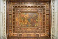 Δημόσιο δωμάτιο καταλόγων του Μπιλ Blass, δημόσια βιβλιοθήκη της Νέας Υόρκης Στοκ φωτογραφία με δικαίωμα ελεύθερης χρήσης