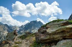 Διάβαση βουνών Στοκ φωτογραφίες με δικαίωμα ελεύθερης χρήσης