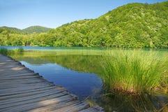 διάβαση λιμνών Στοκ εικόνες με δικαίωμα ελεύθερης χρήσης