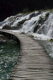 διάβαση ξύλινη Στοκ εικόνα με δικαίωμα ελεύθερης χρήσης