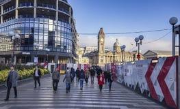 Διάβαση παραδείσου στο κέντρο Μπέρμιγχαμ στο Ηνωμένο Βασίλειο Στοκ εικόνα με δικαίωμα ελεύθερης χρήσης