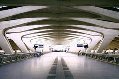 Διάβαση πεζών αερολιμένων Στοκ εικόνα με δικαίωμα ελεύθερης χρήσης