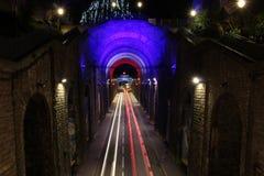 Διάβαση πεζών γεφυρών του Le Mans Στοκ εικόνα με δικαίωμα ελεύθερης χρήσης
