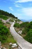 διάβαση πεζών θάλασσας Στοκ Φωτογραφίες