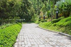 Διάβαση πεζών κήπων στοκ εικόνα