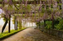 Διάβαση πεζών κήπων Στοκ Φωτογραφίες