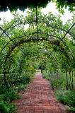 Διάβαση πεζών μέσω του αγγλικού κήπου χωρών Στοκ φωτογραφία με δικαίωμα ελεύθερης χρήσης