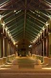 διάβαση πεζών νύχτας Στοκ εικόνες με δικαίωμα ελεύθερης χρήσης