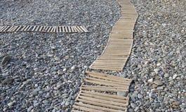 Διάβαση πεζών στην παραλία Στοκ φωτογραφίες με δικαίωμα ελεύθερης χρήσης