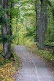 Διάβαση πεζών φθινοπώρου στοκ εικόνες με δικαίωμα ελεύθερης χρήσης
