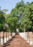 Διάβαση πεζών ψαμμίτη σε Prasat Sdok Kok Thom Στοκ Εικόνες