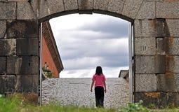 διάβαση πυλών στοκ φωτογραφία με δικαίωμα ελεύθερης χρήσης