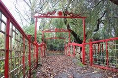 Διάβαση σε ένα τοπικό πάρκο Στοκ Φωτογραφίες