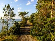 Διάβαση σε Saaremaa στοκ εικόνες