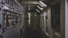 Διάβαση στο τμήμα ελέγχου στοκ φωτογραφίες με δικαίωμα ελεύθερης χρήσης
