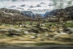 Διάβαση της Νορβηγίας Στοκ Εικόνα