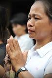 Διάβαση του ταϊλανδικού πατριάρχη Sumpreme Στοκ φωτογραφία με δικαίωμα ελεύθερης χρήσης