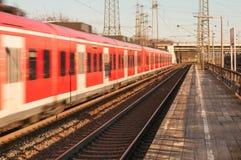Διάβαση του τραίνου Στοκ φωτογραφίες με δικαίωμα ελεύθερης χρήσης