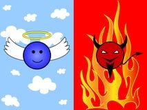 διάβολος κινούμενων σχ&epsilo διανυσματική απεικόνιση