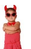 διάβολος παιδιών Στοκ φωτογραφίες με δικαίωμα ελεύθερης χρήσης
