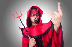 Διάβολος ατόμων Στοκ Εικόνες