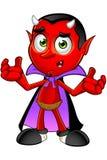 Διάβολος κινούμενων σχεδίων - ταραγμένος Στοκ Φωτογραφία