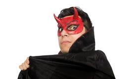 Διάβολος που απομονώνεται αστείος Στοκ φωτογραφίες με δικαίωμα ελεύθερης χρήσης