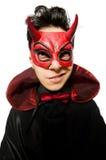 Διάβολος που απομονώνεται αστείος Στοκ Φωτογραφία