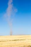 Διάβολος σκόνης σε έναν τομέα στοκ εικόνες με δικαίωμα ελεύθερης χρήσης