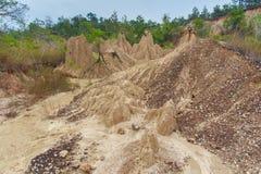Διάβρωση στην Ταϊλάνδη Στοκ Φωτογραφίες
