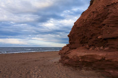 Διάβρωση στους απότομους βράχους ψαμμίτη Στοκ εικόνα με δικαίωμα ελεύθερης χρήσης