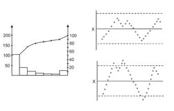 διάγραμμα ανασκόπησης διανυσματική απεικόνιση