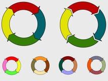 Διάγραμμα κύκλων Στοκ φωτογραφίες με δικαίωμα ελεύθερης χρήσης