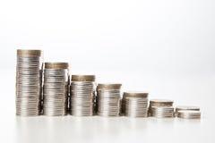 Διάγραμμα χρημάτων Στοκ Φωτογραφία