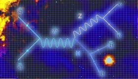 Διάγραμμα Feynman Στοκ εικόνες με δικαίωμα ελεύθερης χρήσης