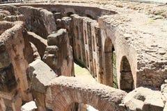 Διάδρομοι του τεχνικού υποβάθρου Colosseum στοκ εικόνες με δικαίωμα ελεύθερης χρήσης