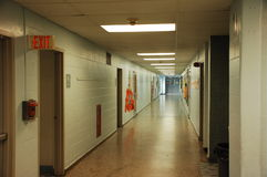 διάδρομος μακρύς Στοκ φωτογραφία με δικαίωμα ελεύθερης χρήσης