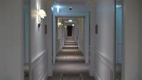 Διάδρομος στο ξενοδοχείο φιλμ μικρού μήκους