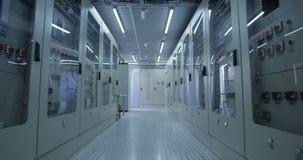 Διάδρομος του ηλιακού ηλεκτρικού κέντρου εγκαταστάσεων φιλμ μικρού μήκους