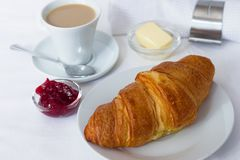 Διάλειμμα croissant Στοκ Εικόνες