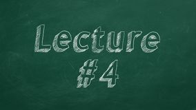 Διάλεξη #4 ελεύθερη απεικόνιση δικαιώματος
