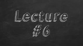 Διάλεξη 6 ελεύθερη απεικόνιση δικαιώματος